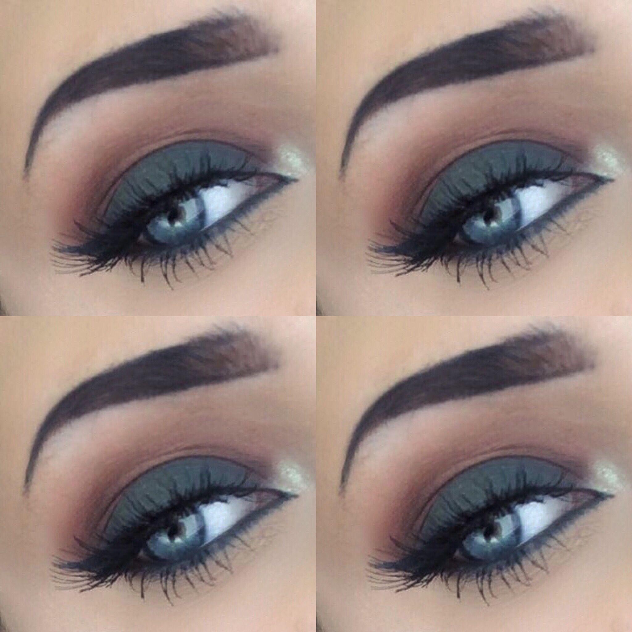 Eye makeup, eye shadow, makeup, smokey eye, autumn, fall