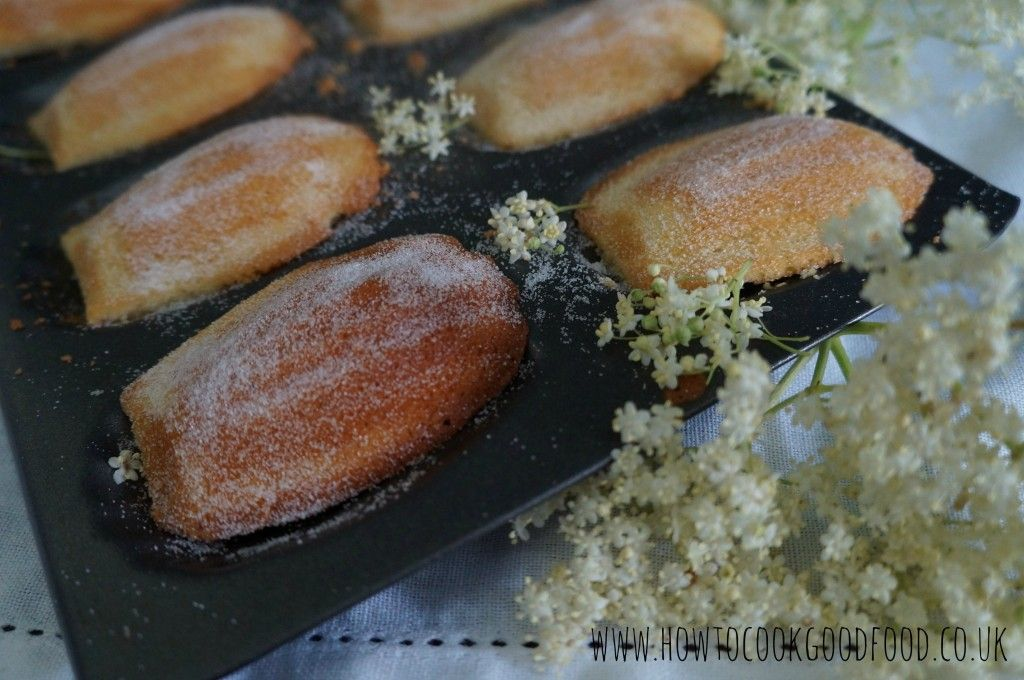 how to cook good food | Elderflower Madeleines | http://www.howtocookgoodfood.co.uk