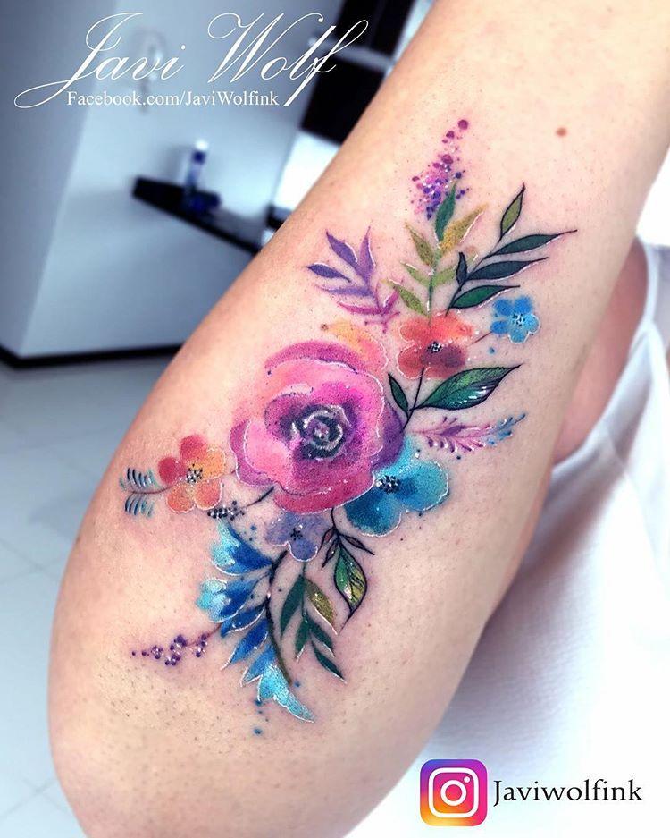 Watercolor Flower Diseno Y Estilo Propio With Images
