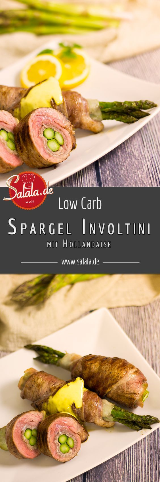 Photo of Asparagus Involtini – Green asparagus roulades | salala.de – Low …