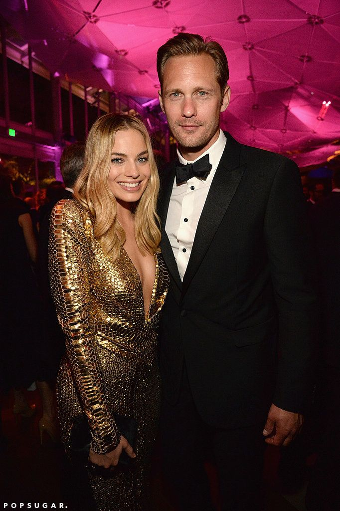 See How The Stars Turned Up At Vanity Fair S Oscars After Party Alexander Skarsgard Margot Robbie Robbie