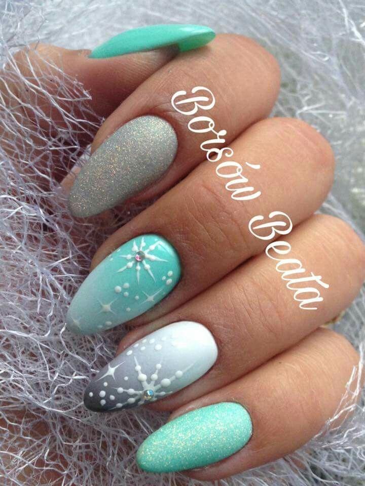 NailsArt #WinterNails #NailsIdeas   Christmas Beauty & Fashion ...