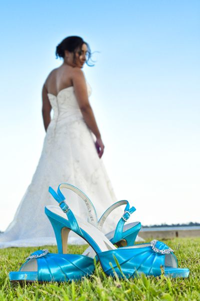 My Shoes Makenzie From Davids Bridal Having Them Dyed Malibu To Match The Bridesmaids