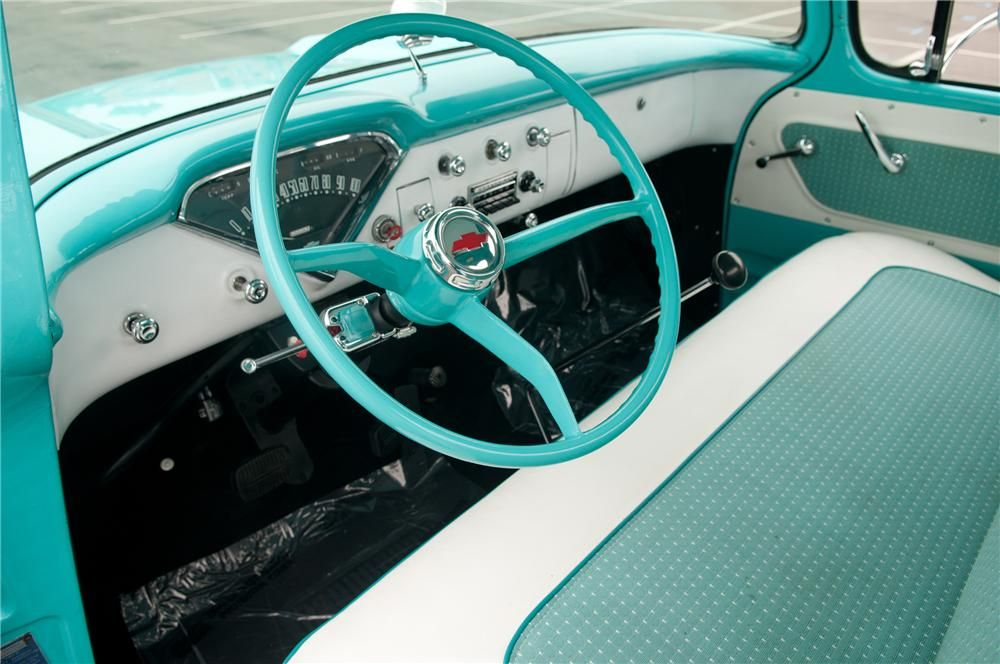 1958 Apache Interior With Images Custom Car Interior Old