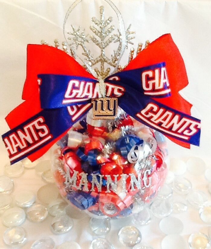 New York Giants Personalized Christmas Ornament  NewYorkGiants 06ab283b2