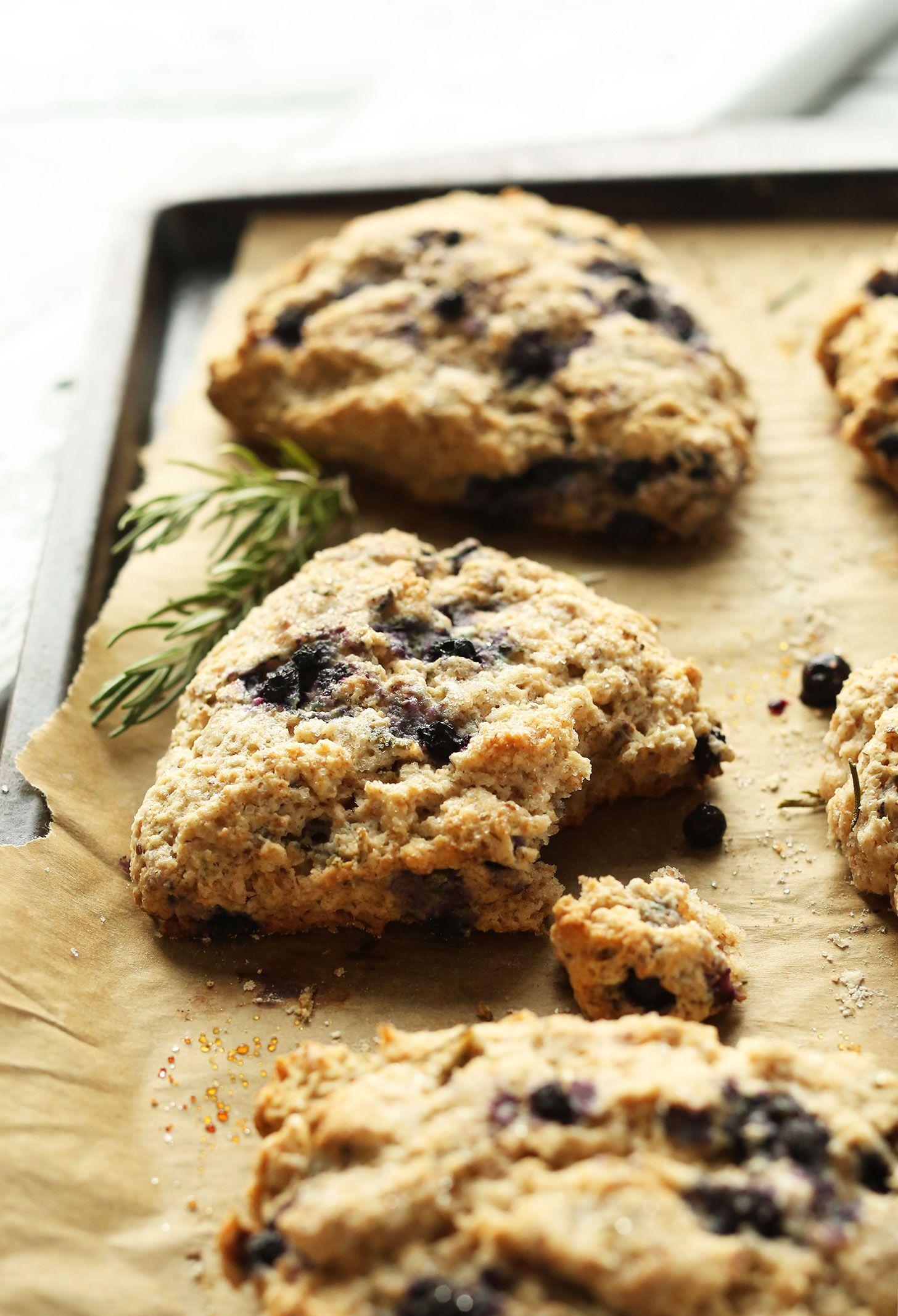 Coconut Oil Blueberry Scones Minimalist Baker Recipes Recipe Blueberry Scones Baker Recipes Food