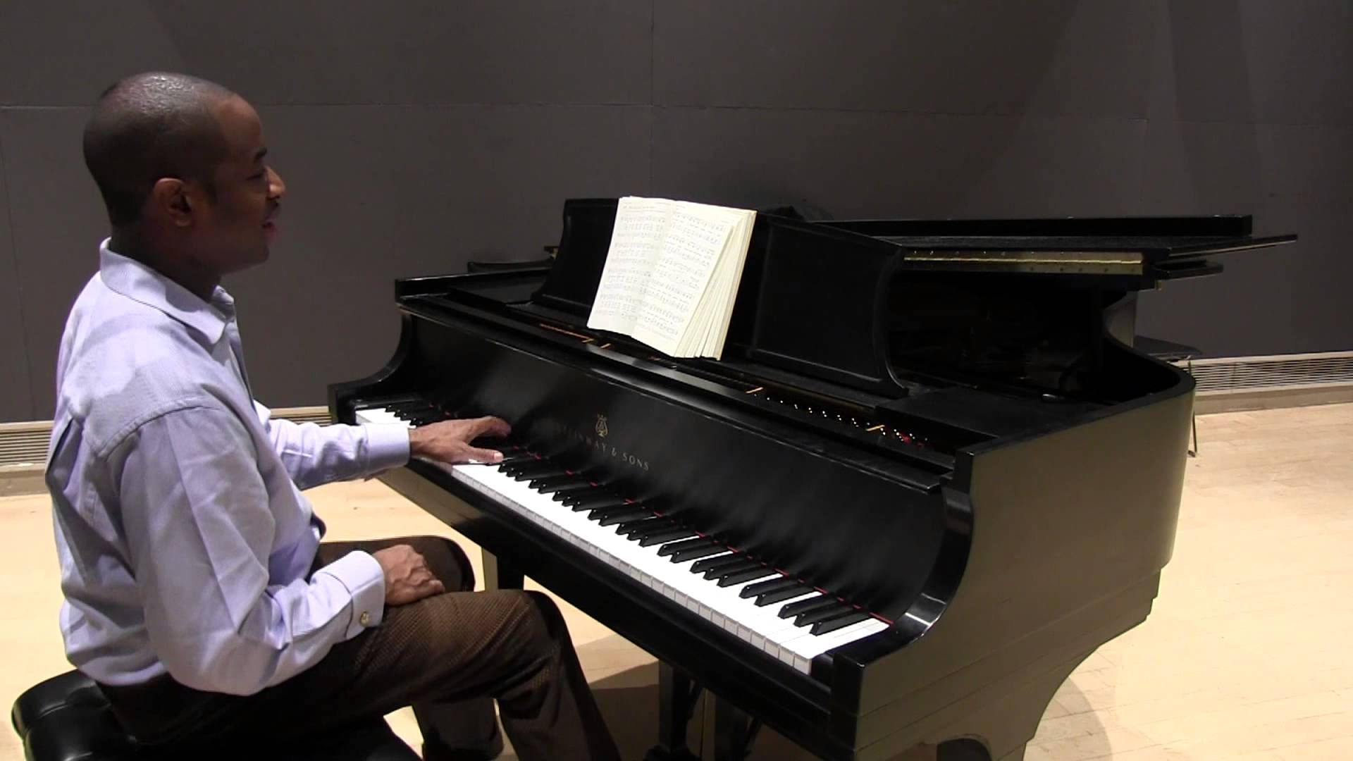 """Taking a Hymn to Church"" Gospel Piano with Damien Sneed"