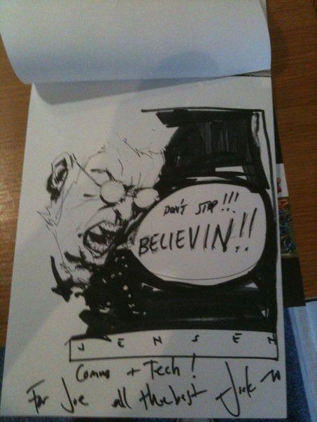 Jock- Jensen (The Losers) Comic Art