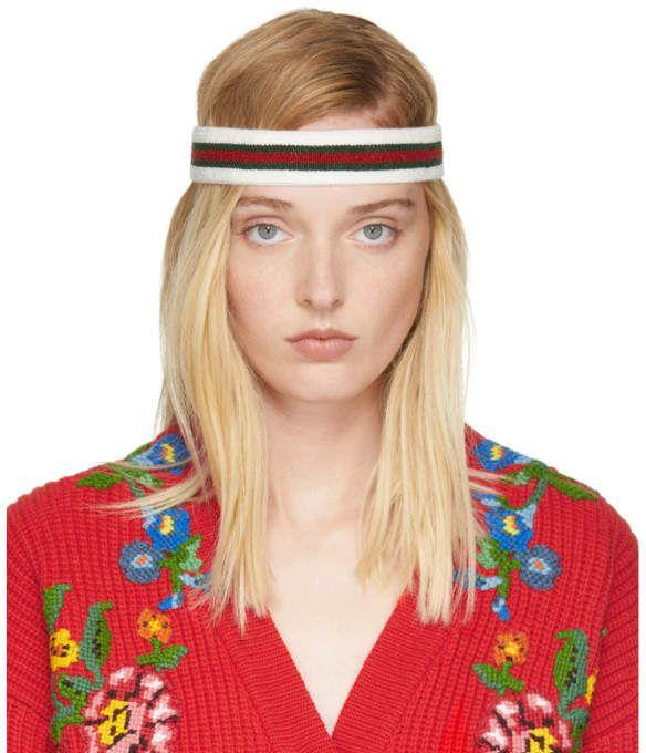275a38d9701 Gucci Tricolor Web Headband  Gucci  cap ShopStyle  MyShopStyle click link  for more
