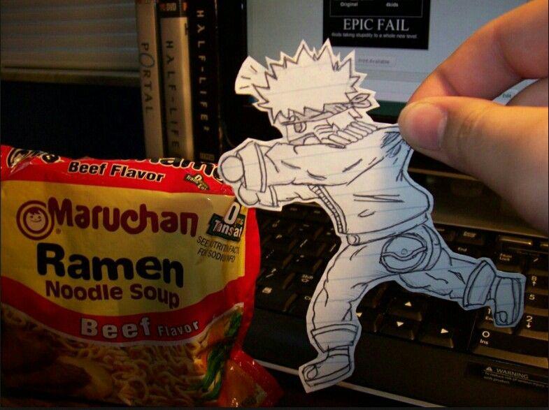 Naruto really wants ramens
