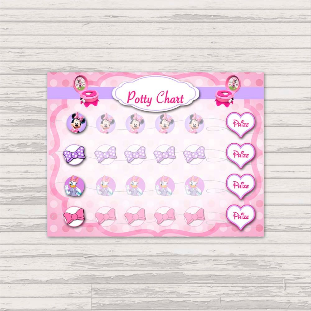 potty chart template