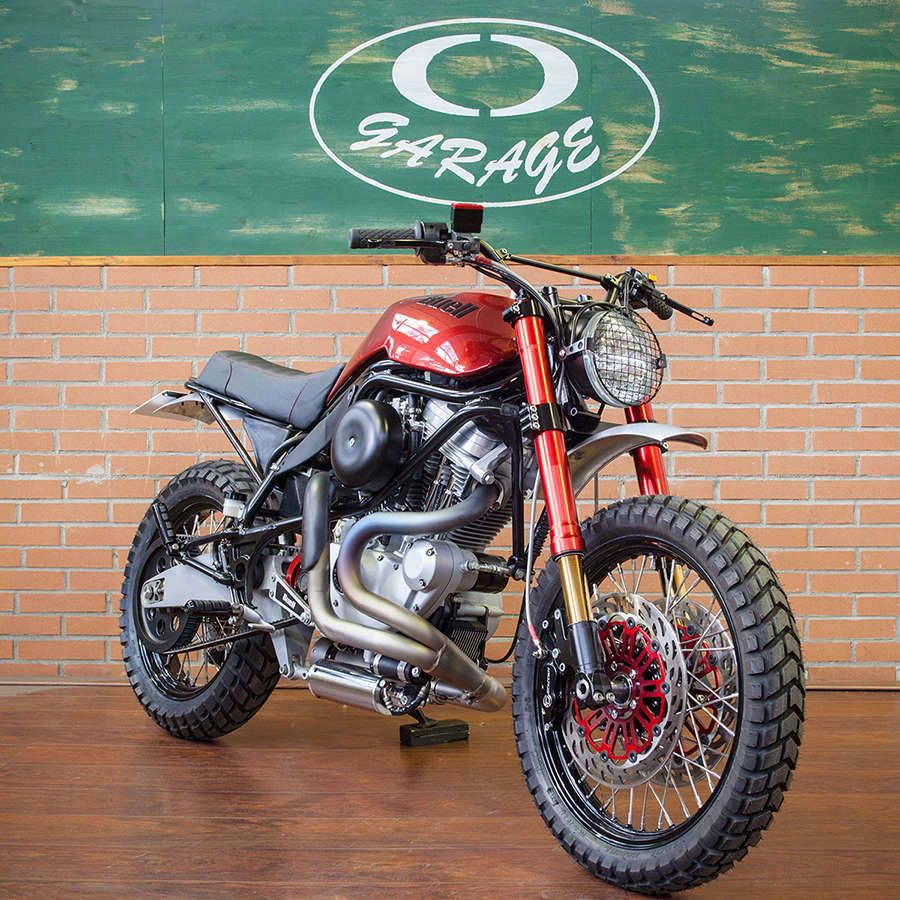 Buell M2 Cyclone Scrambler by CD Garage #motorcycles #scrambler
