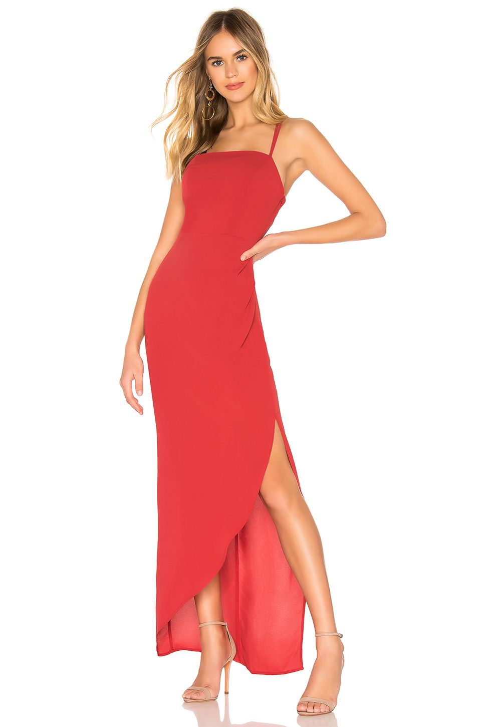Bcbgeneration Strappy Maxi Dress In American Red From Revolve Com Maxi Dress Strappy Maxi Dress Womens Maxi Dresses [ 1450 x 960 Pixel ]