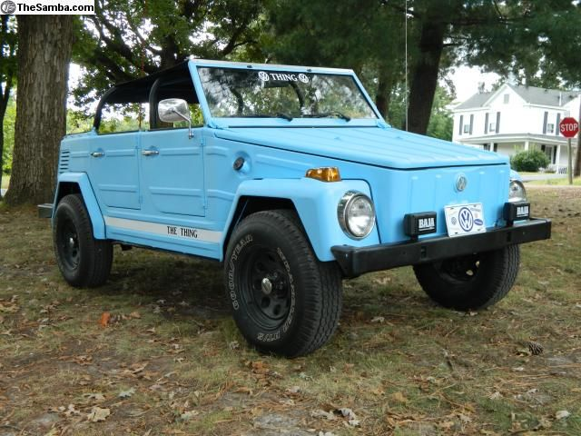 light blue volkswagen thing 181 weird but i like it cars of my dreams pinterest. Black Bedroom Furniture Sets. Home Design Ideas