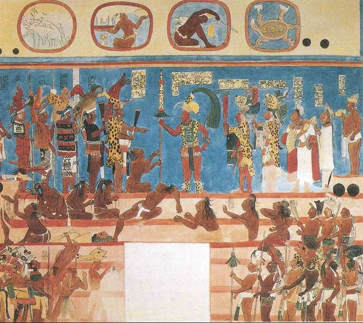 Who are the mayans the mayans were a race of negroes for Bonampak mural painting