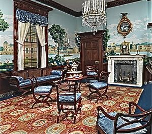 American federal period history politics design - Federal style interior decorating ...