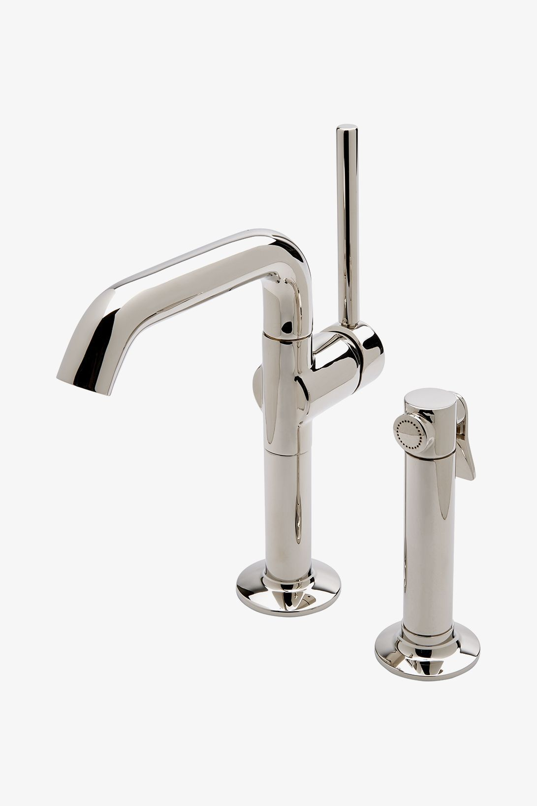 25 One Hole High Profile Kitchen Faucet Metal Handle And Metal