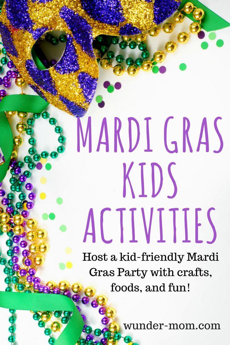 Mardi Gras Kids Activities | Mardi gras, Kid activities and Tuesday