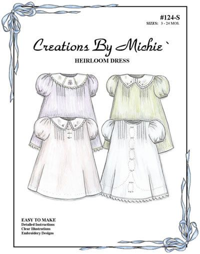 Michie%92+124%2C+Heirloom+Dress%2C+Discontinued+Pattern | Special ...