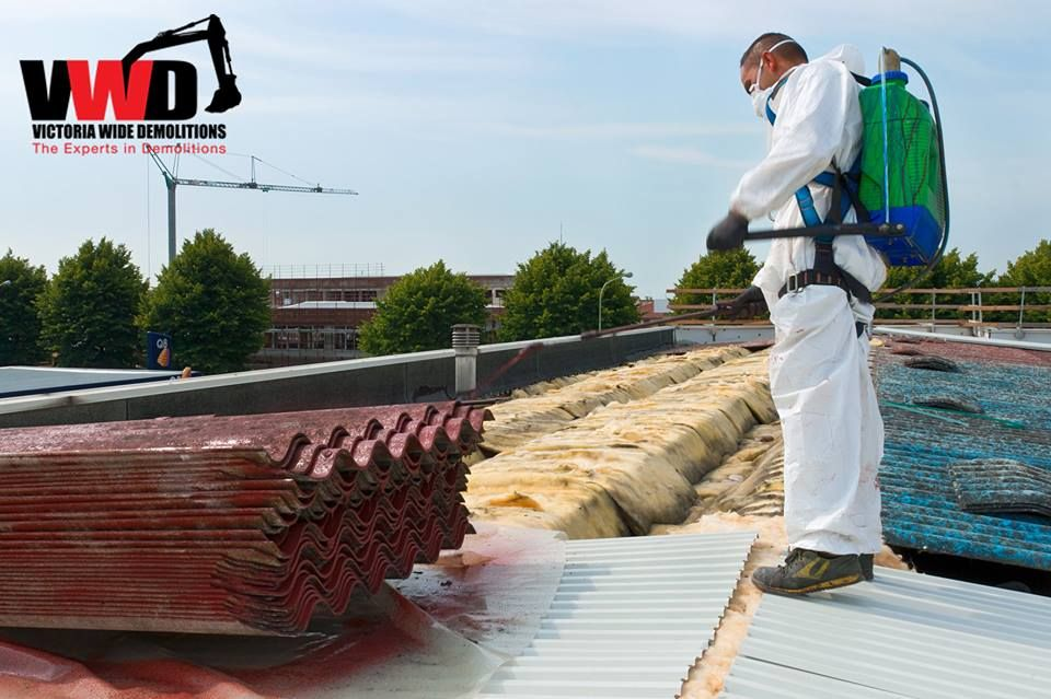 Asbestos Removal All Y Yourself Is A Strict No No Let The Professionals Be At It To Rid You Of The Unnecessary He Asbestos Removal Asbestos Demolition Service