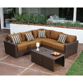 Endura Ii 5 Piece Modular Seating Set