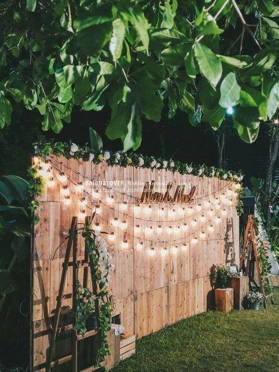 New Outdoor Decoration Ideas Weddingdecoration Cheap Backyard