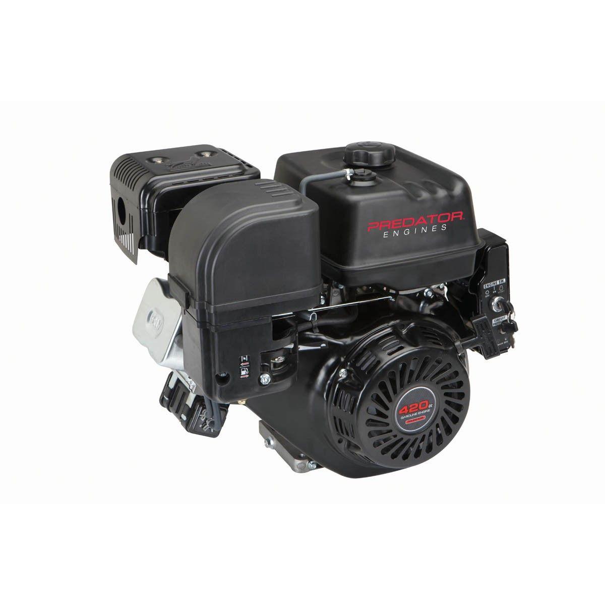 13 HP (420cc) OHV Horizontal Shaft Gas Engine EPA | Gas