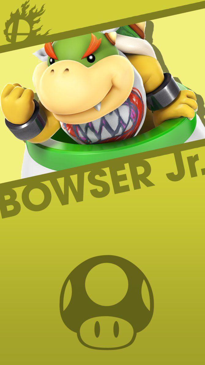 Bowser Jr Smash Bros Phone Wallpaper By Mrthatkidalex24 Super Mario Bros Smash Bros Super Mario Art