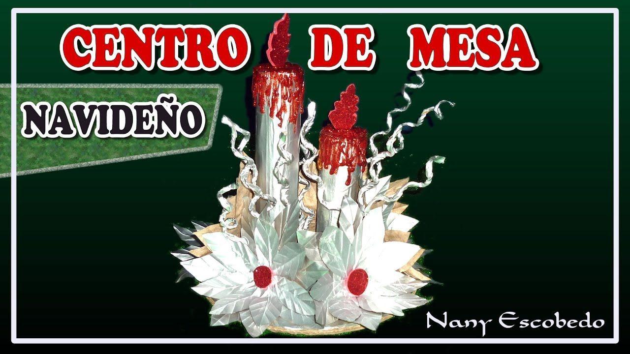 Centro de mesa navide o con cajas de tetra pak navidad for Elaboracion de adornos navidenos