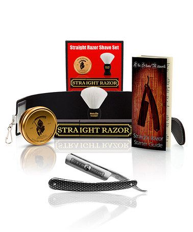 Grim Dollar Shave Ready Straight Razor Set Straight Razor Dollar Shave Straight Razor Shaving