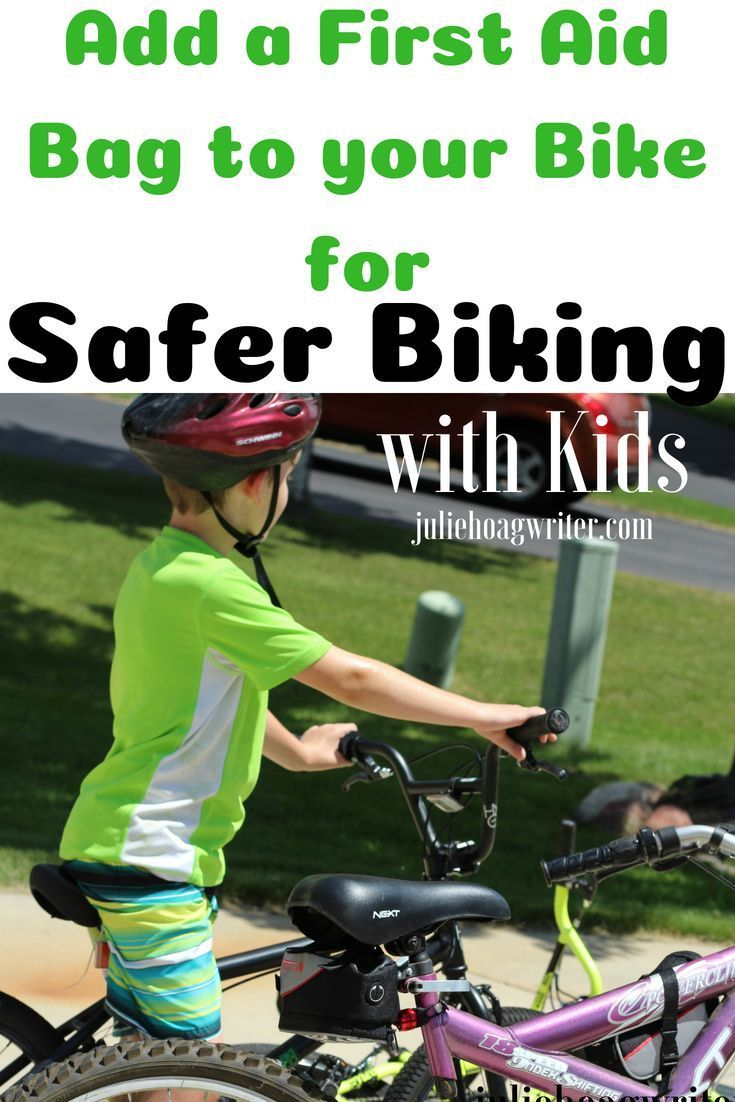 Helpful practical first aid bag for safer biking first