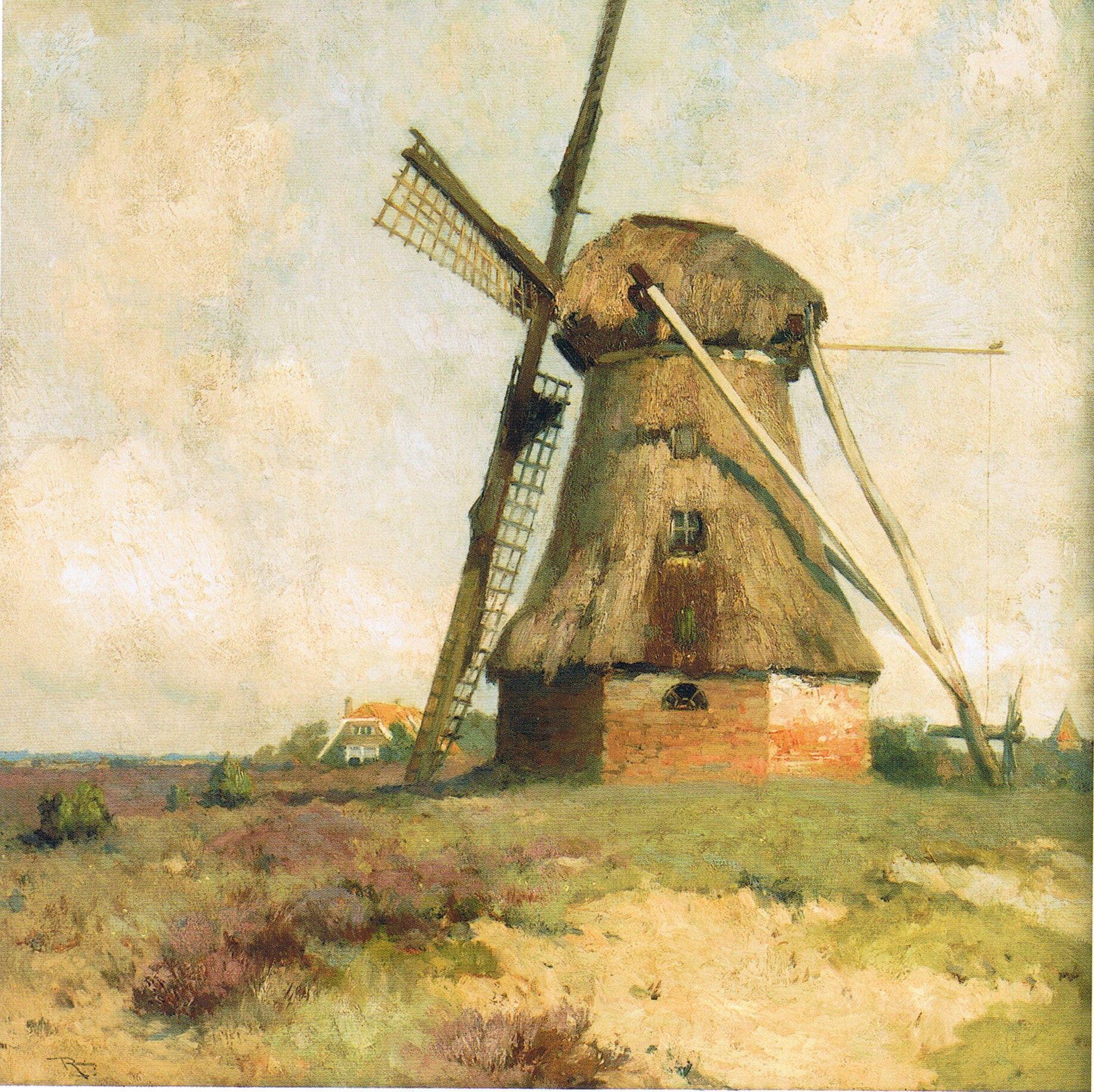 Afbeeldingsresultaat voor roessingh schilder molen