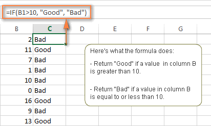 How To Use If Function In Excel Examples For Text Numbers Dates Blank Cells Excel Text Formula