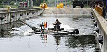 K1 tank water crossing