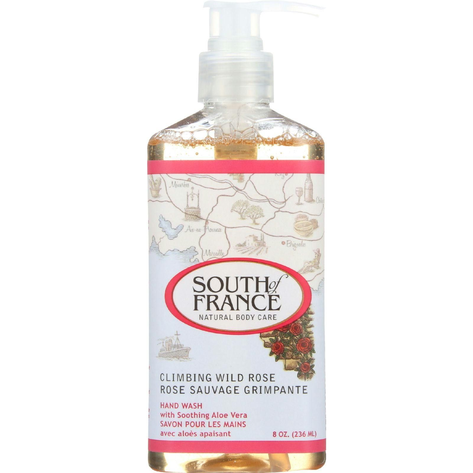 South of France Hand Wash - Climbing Wild Rose - 8 oz
