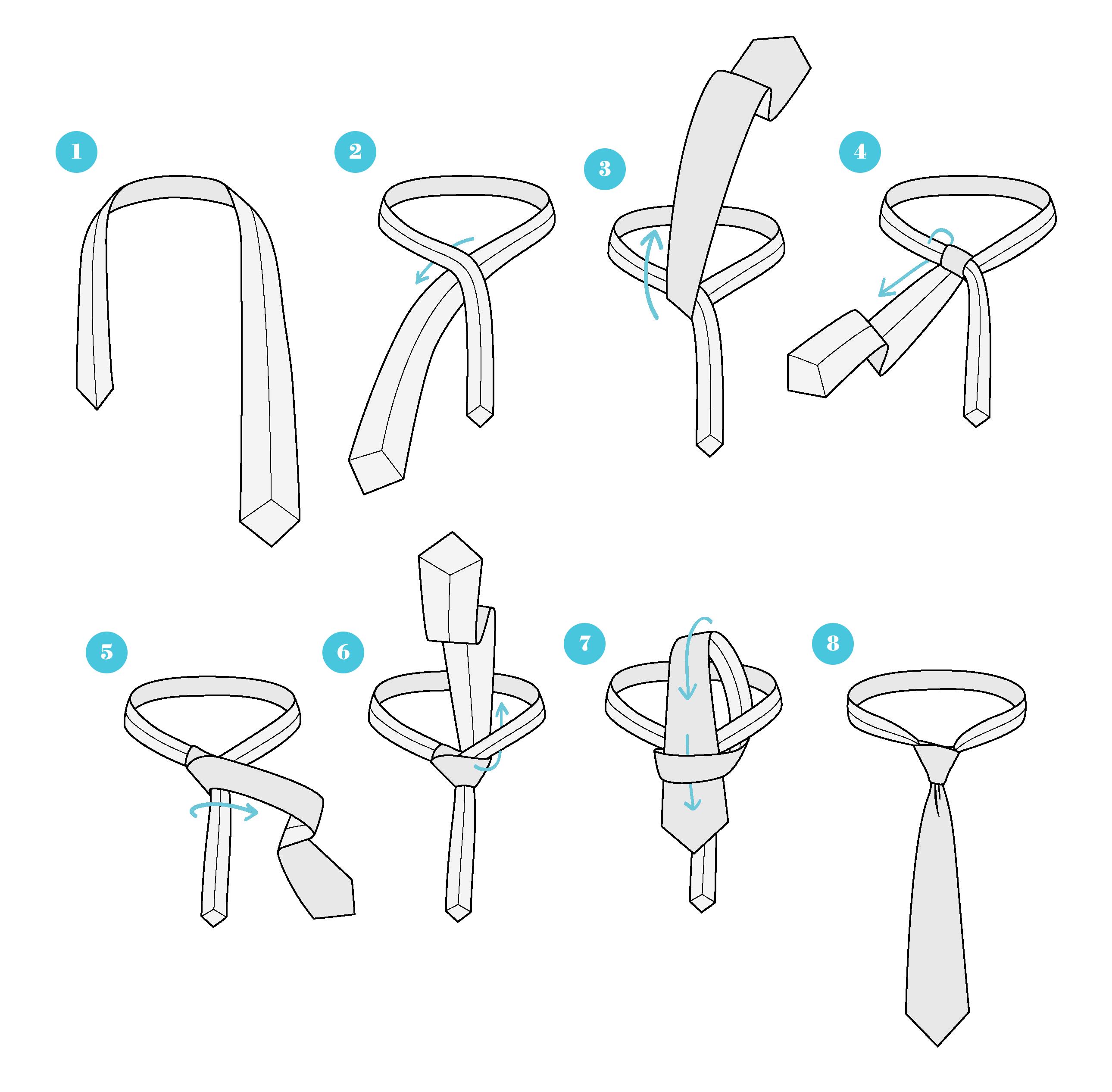 Como Se Hace Nudo De Corbata Paso A Paso