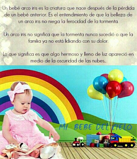 Emma Mi Bb Arcoiris Pérdida De Un Bebé Bebe Y Frases