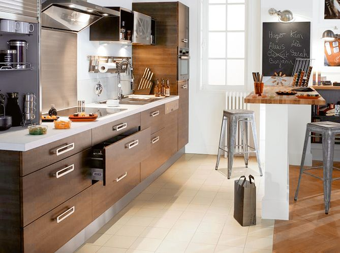deco salon salles a manger cuisine 30m2 - Recherche Google Kitchen