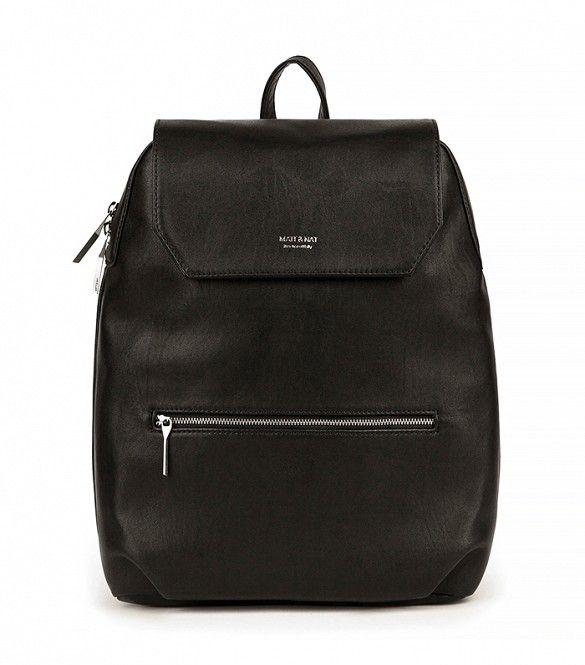 Matt & Nat Peltola Bag // Black backpack