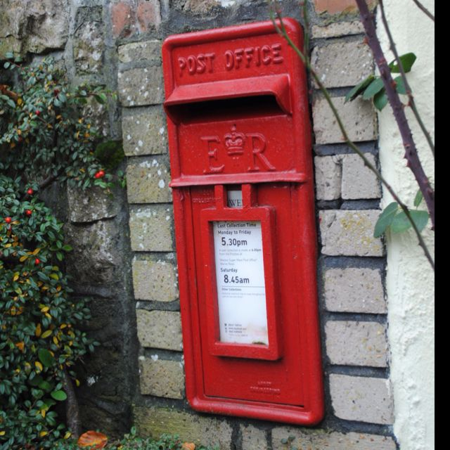 My obsession with English Mailboxes! Portishead,UK