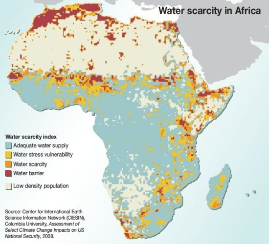 Water scarcity in Africa! Take action on the urgency of water