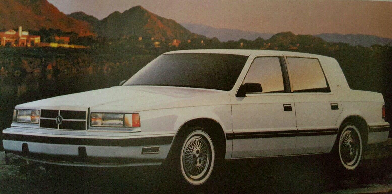 1990 Dodge Dynasty Dodge Cars Trucks Chrysler