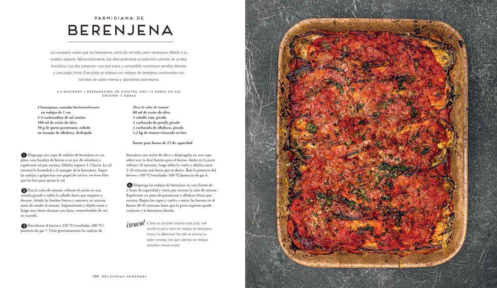 Libro Deliciosas Verduras 100 Recetas Vegetarianas Editorial Cinco Tintas Recetas Vegetarianas Verduras Platos Deliciosos