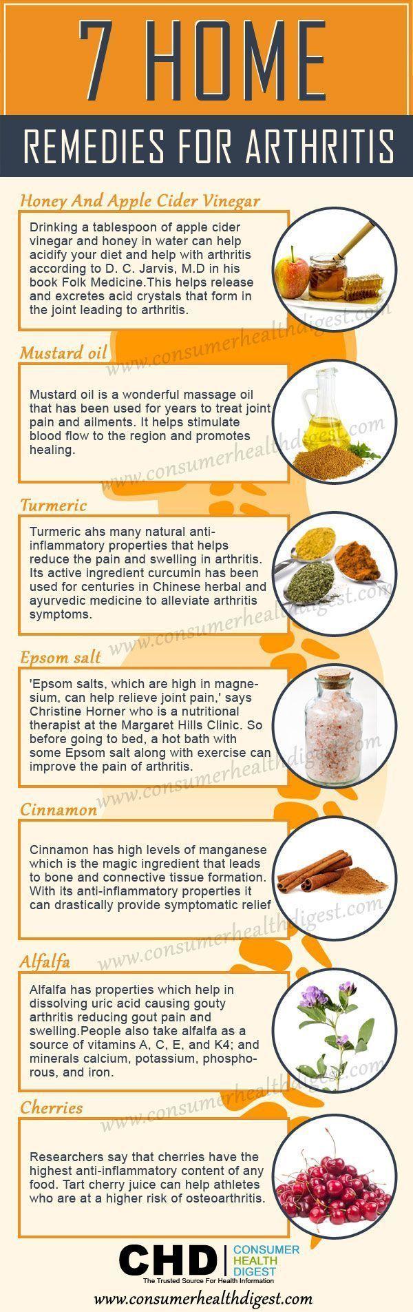 17 Home DIY Remedies for Arthritis