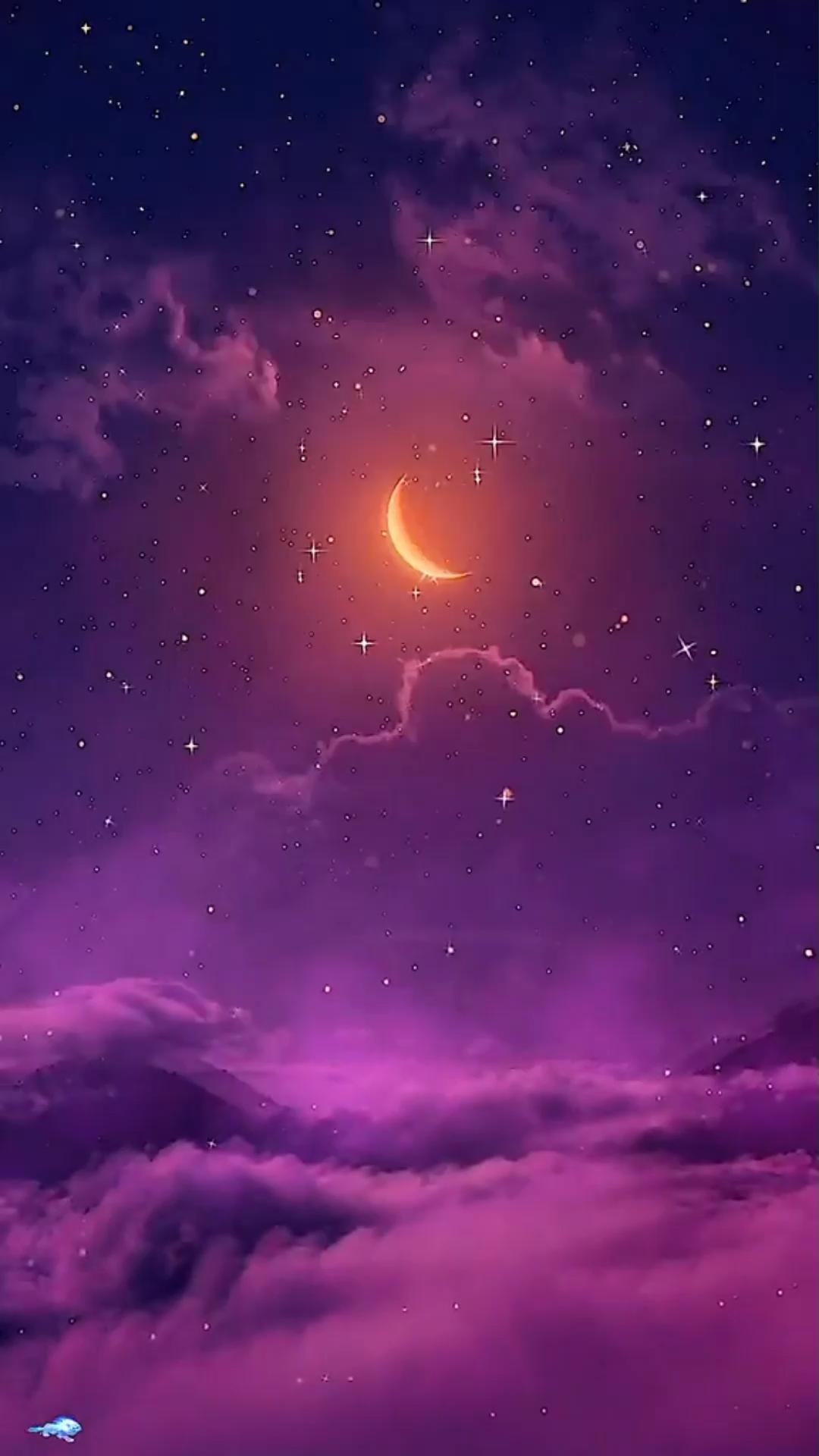 Hình nền động bầu trời đêm