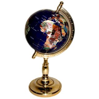 Threestar gemstone world map globe products pinterest map threestar gemstone world map globe gumiabroncs Image collections
