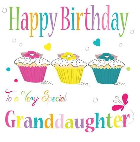 Happy Birthday To A Very Special 2nd Wishes For Granddaughter