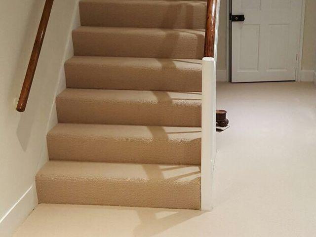 Best Stairs Stairs Beige Carpet Beige 400 x 300