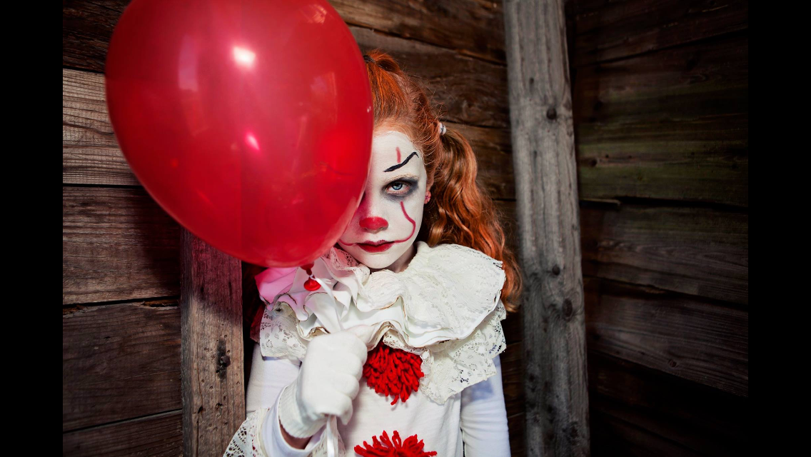 Homemade Pennywise costume Child costume it pennywise