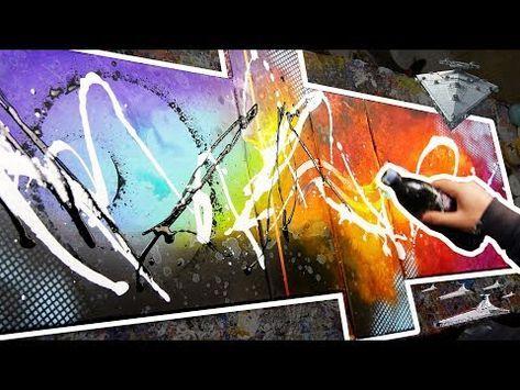 Comment Peindre Une Peinture Abstraite Au Couteau Element